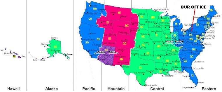 Time Zone Map Of The United States Nations Online Project: Us Map Zone Times At Usa Maps